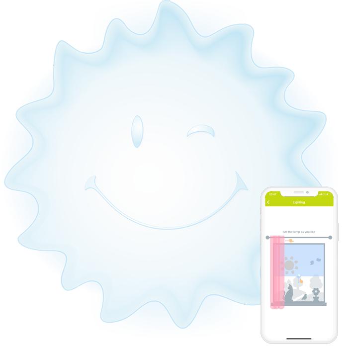Cмарт лампа естествена светлина AGU Sunny